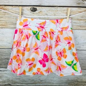 Lilly Pulitzer Triple Crown Tossed Butterfly Skirt